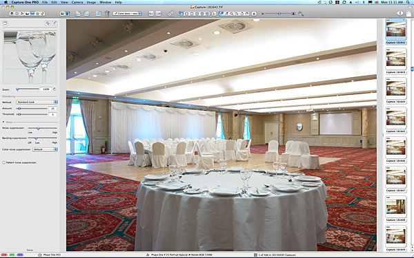 One of the first pictures taken in the Lettermore ballroom suite at the Galway Bay Hotel.