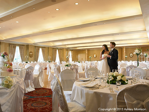 The Lettermore ballroom suite at the Galway Bay Hotel.