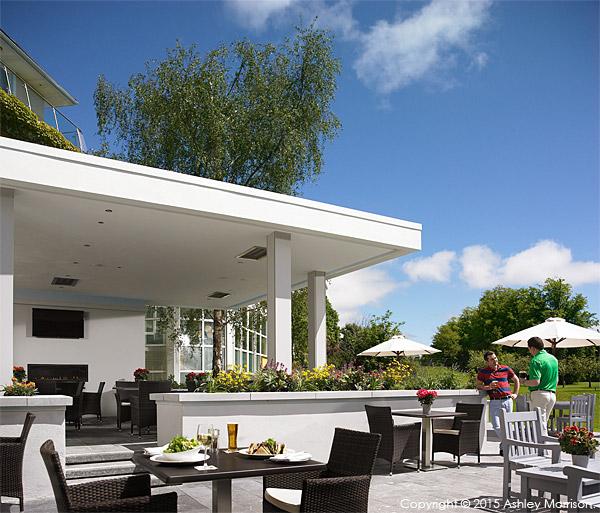 Garden Terrace at the Killarney Park Hotel in the Irish county of Kerry.