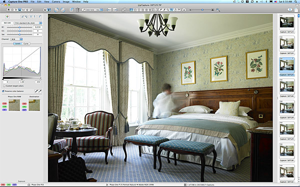 One of the first pictures in the Superior bedroom at the Kildare Hotel Spa & Golf Club near Straffan in County Kildare.