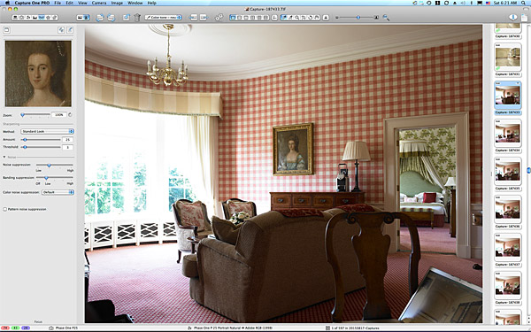 One of the first pictures taken in the Presidential Suite at the Kildare Hotel Spa & Golf Club.