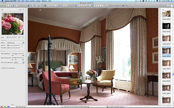 One of the first pictures taken of the Liffey Suite.