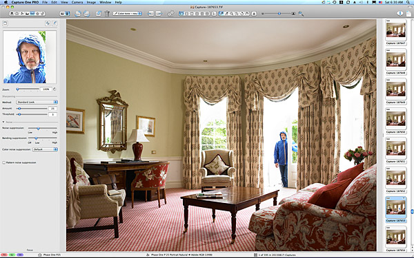 One of the first pictures taken in Suite 6 at the Kildare Hotel Spa & Golf Club
