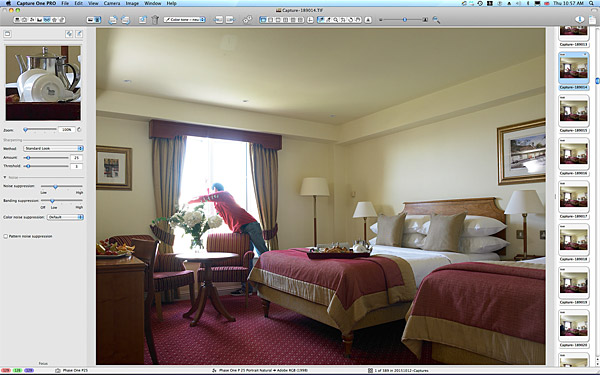 One of the first picture taken in the Classic double bedroom at the Galway Bay Hotel on the promenade at Salthill.