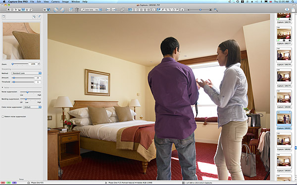 One of the first pictures taken in the Atlantic View bedroom at the Galway Bay Hotel on the promenade at Salthill.