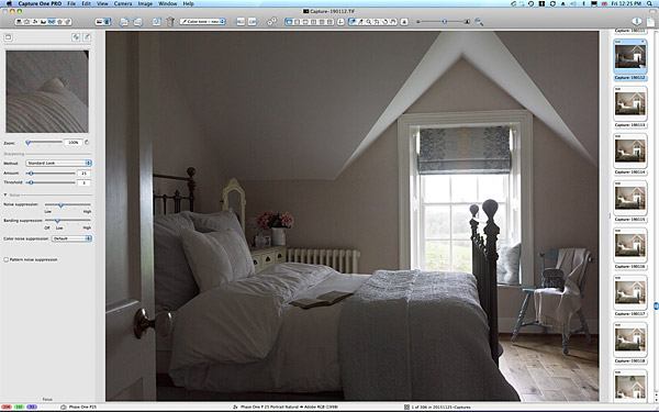 One of the first pictures taken in the guest bedroom at Rosemary Bothwell's cottage near Fivemiletown in County Tyrone.