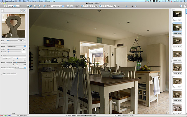 One of the first pictures taken in the kitchen of Jillian and Jim Donaldson's 1950's detached house in Belfast.