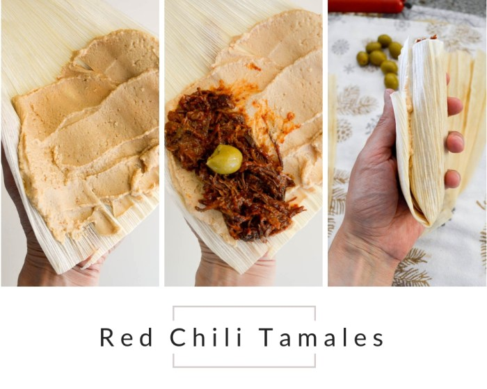 Red Chili Beef Tamales A Small Batch Ashley Munro Nutrition