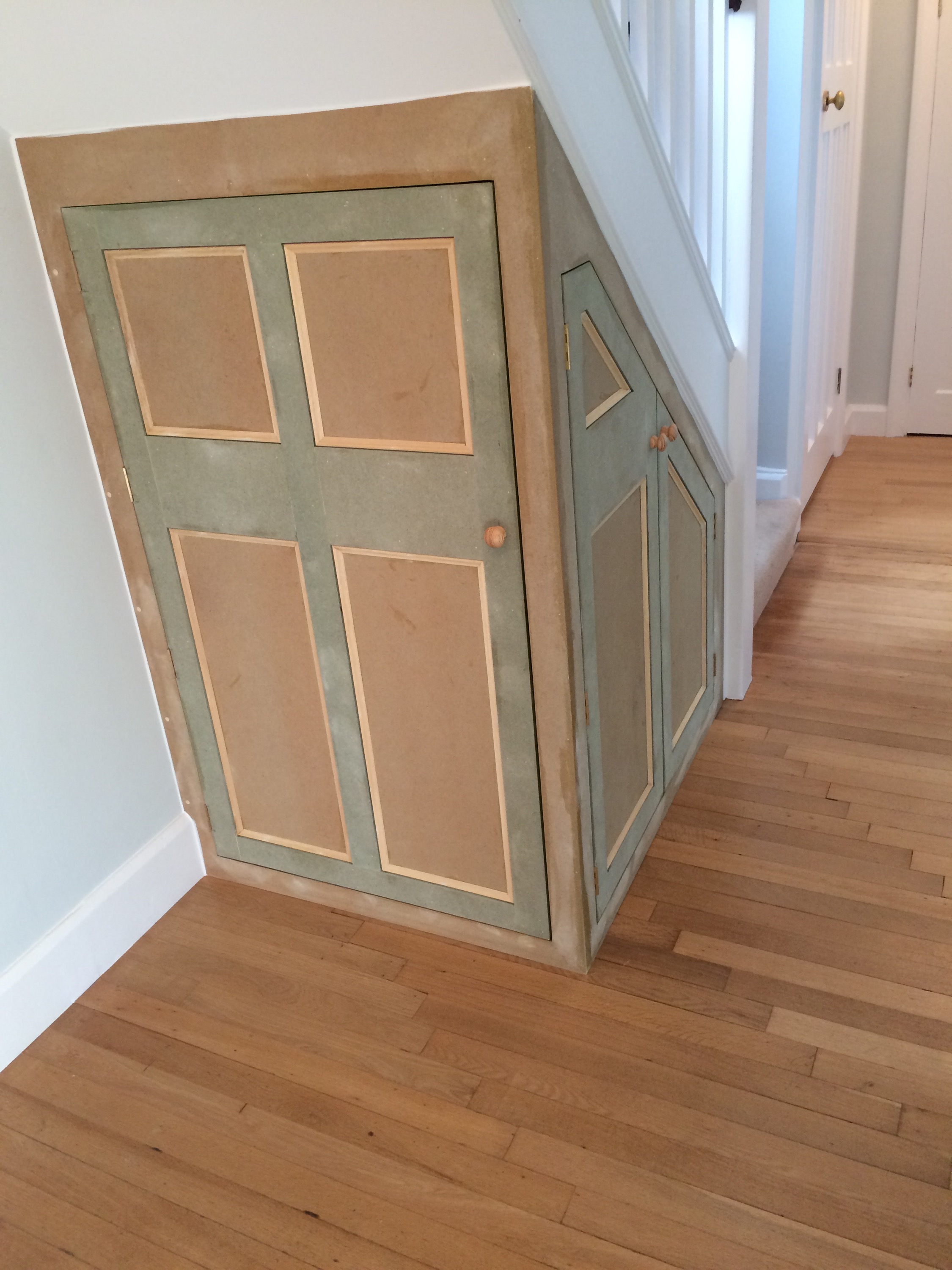 Under Stairs Cupboard Ashley Pinney Carpentry