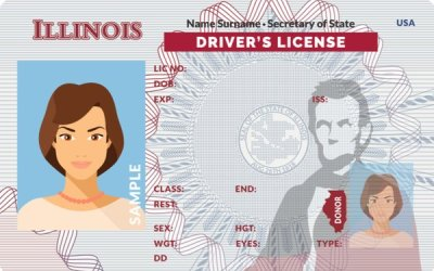 Illinois State Identification Cards for Person with a Disability