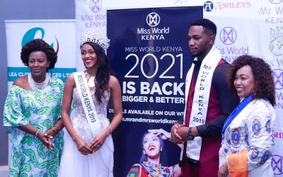 Mr and Miss World Kenya beauty pageantry 2021 launched