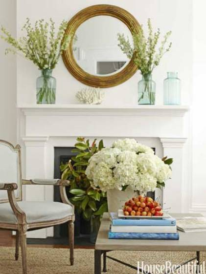 Interior Decorating by Lynn Morgan, Photo by Christopher Baker via House Beautiful