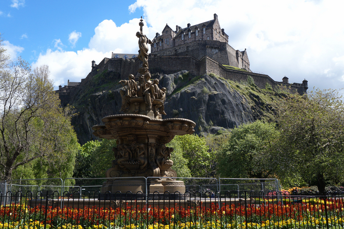Princes Street Gardens Edinburgh