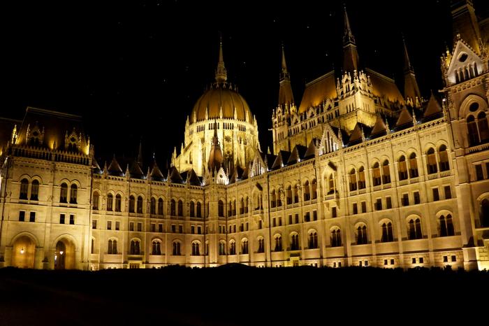 Budapest Parliament Night 2