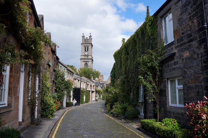 Edinburgh Cicrus Lane