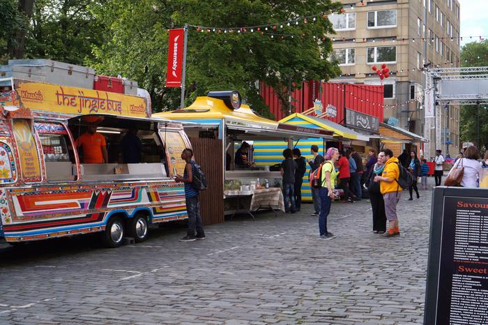 Edinburgh Fringe Festival Food Trucks
