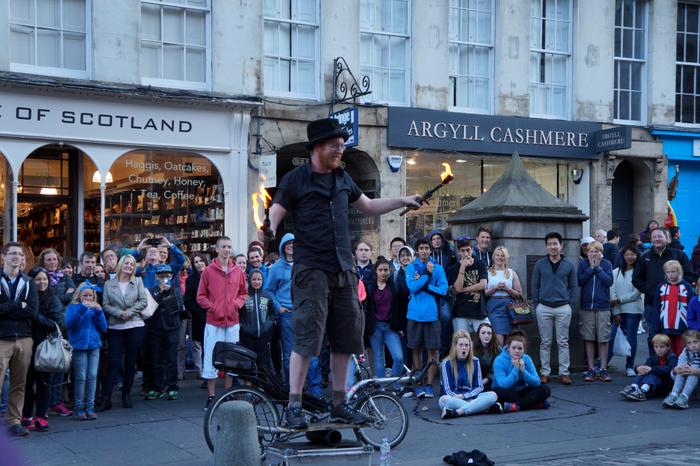 Edinburgh Fringe Festival Royal Mile