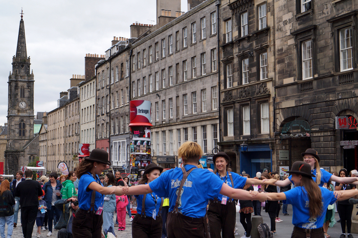 Edinburgh Fringe Festival Royal Mile