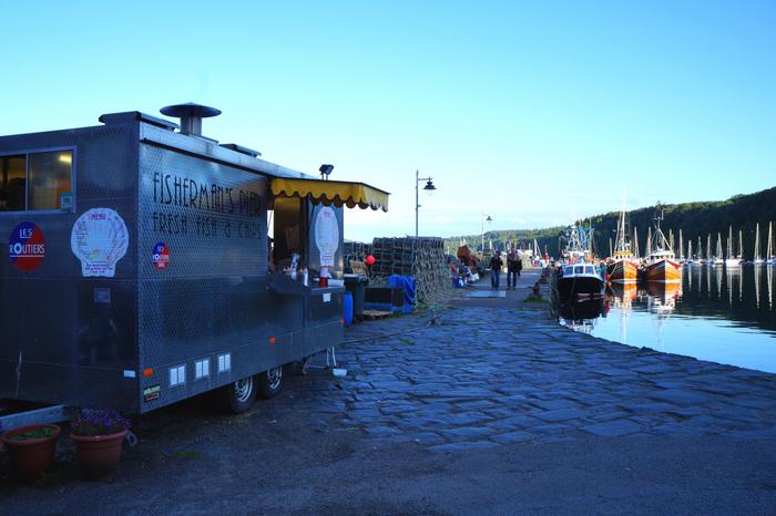 Isle of Mull Chip Van