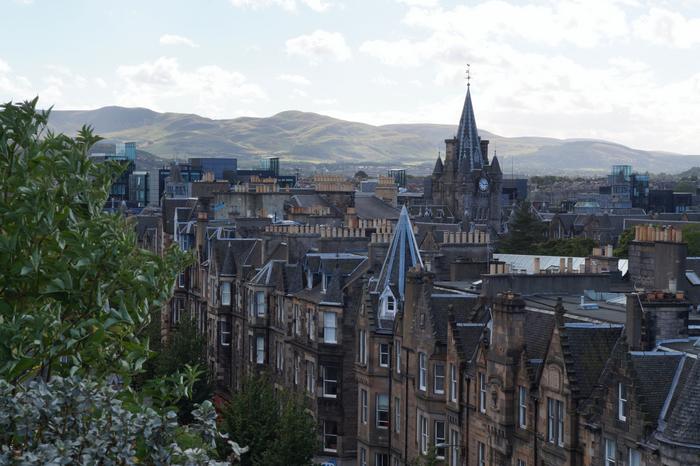 Edinburgh National Museum Rooftop