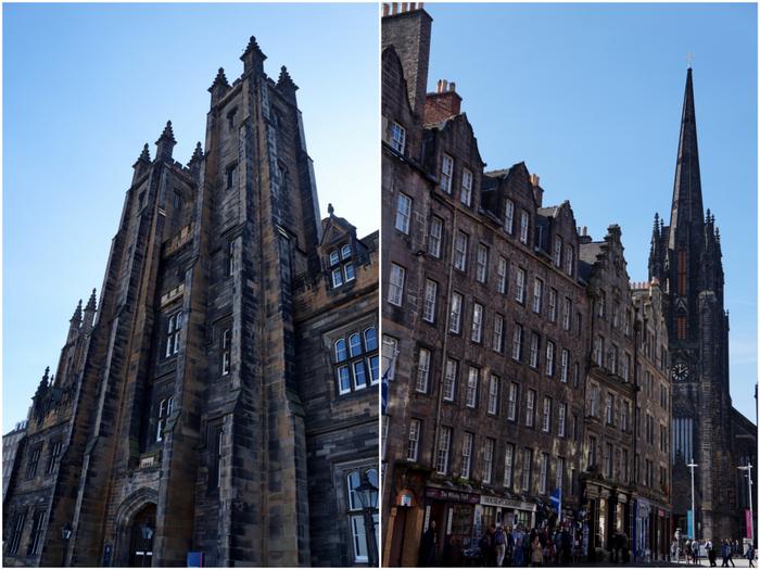 Edinburgh New College & Royal Mile