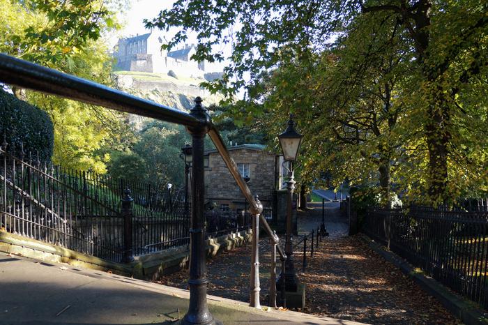 Edinburgh Castle Autumn