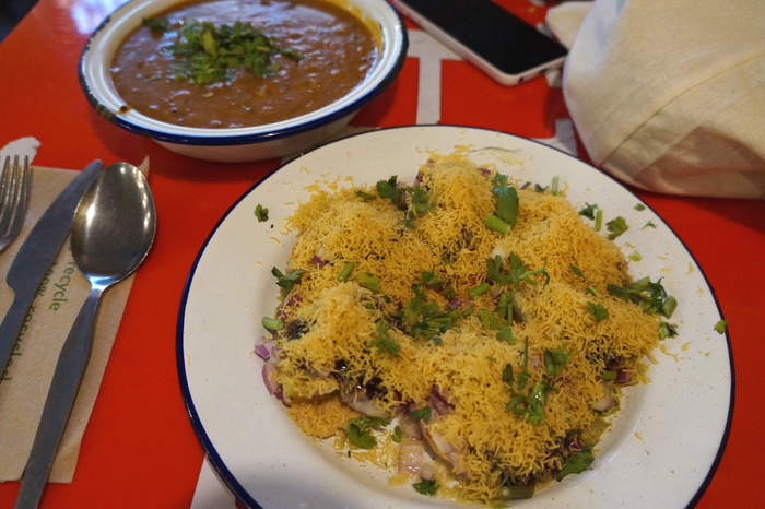 Sev Puri Bombay Babu Kitchen Glasgow