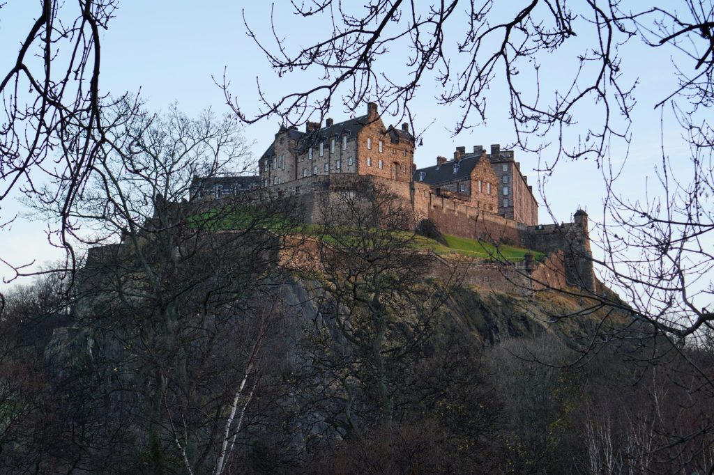 Edinburgh Castle Winter