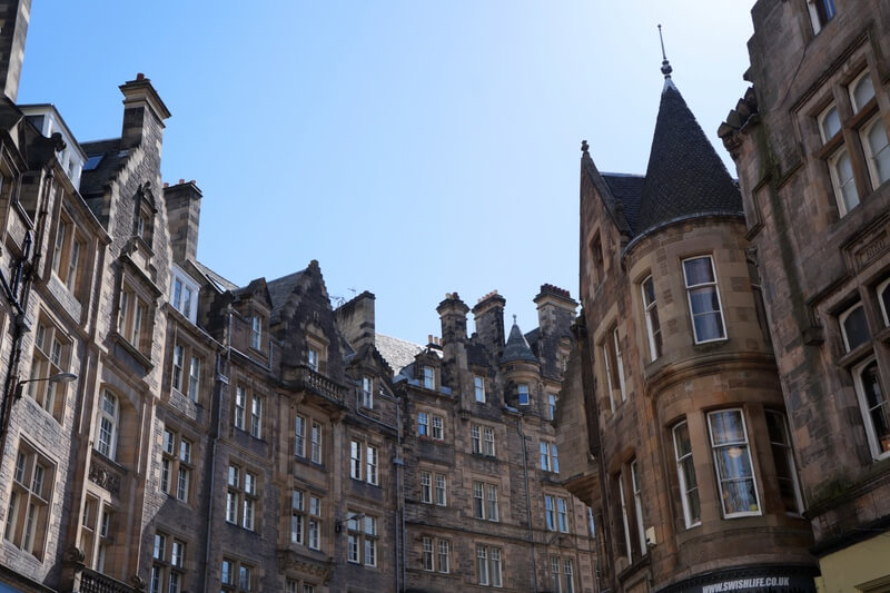 Cockburn Street Edinburgh Scotland