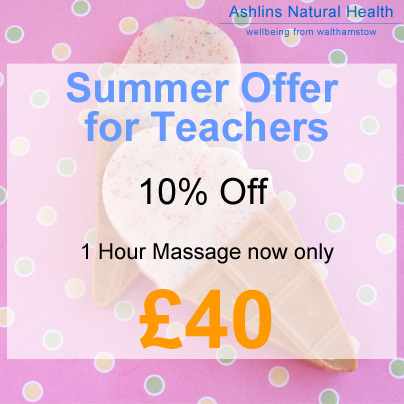 Special Offer for Teacher in Walthamstow