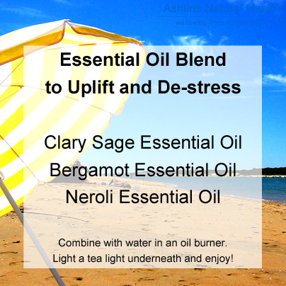 Uplifting Summer Essential Oil Blend Recipe