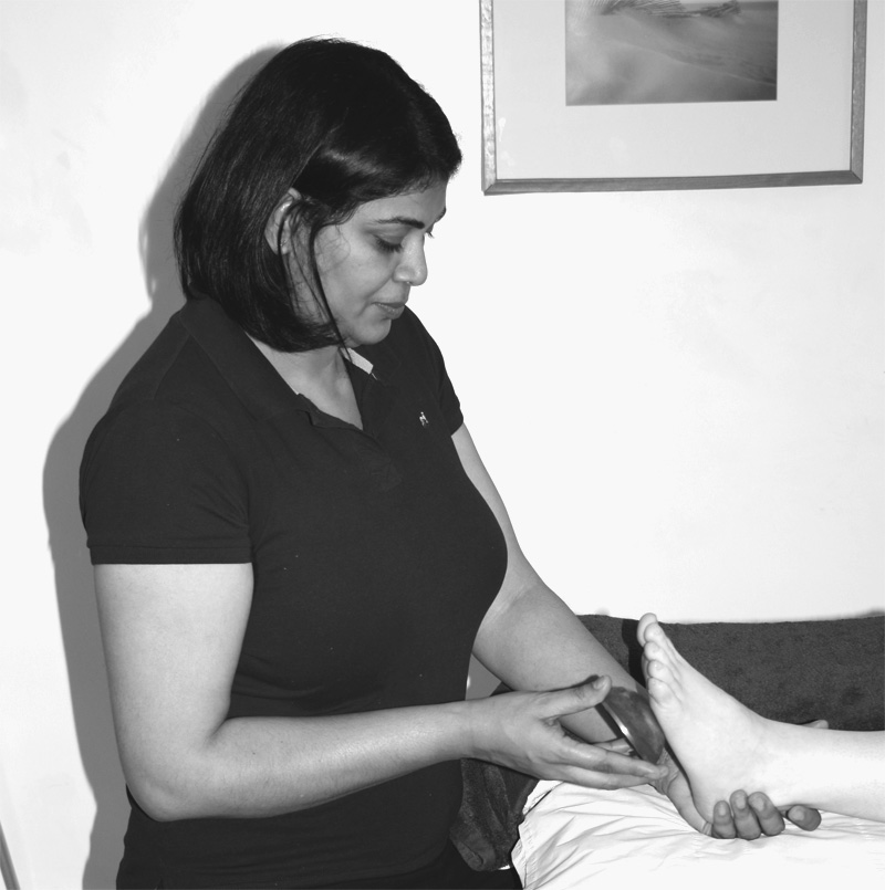 Ayurvedic foot massage in E17