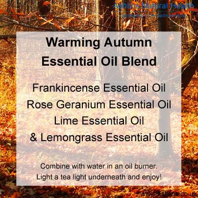 Warming Autumn Essential Oil Blend