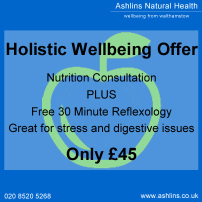 Nutrition and Reflexology Combination only £45