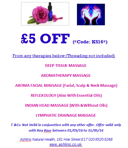 Special Offer Massage Walthamstow