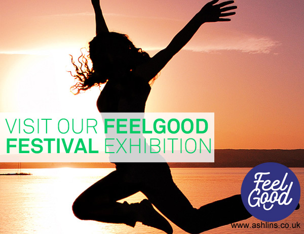 Visit our Feelgood Festival Exhibition (& Get a Free Goody Bag)