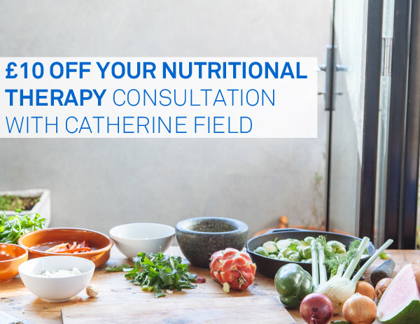 £10 off nutritional therapy in walthamstow