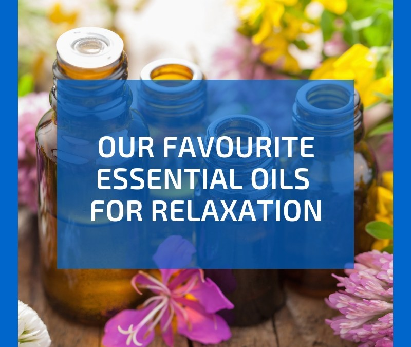 Relaxing essential oils