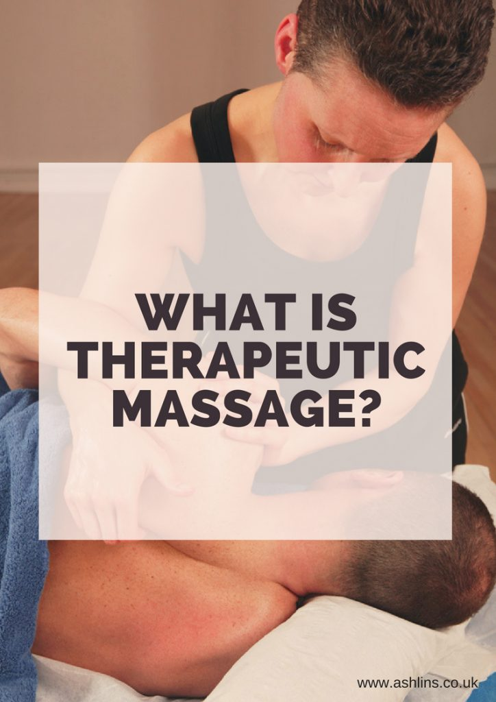 what is therapeutic massage? click through to find out