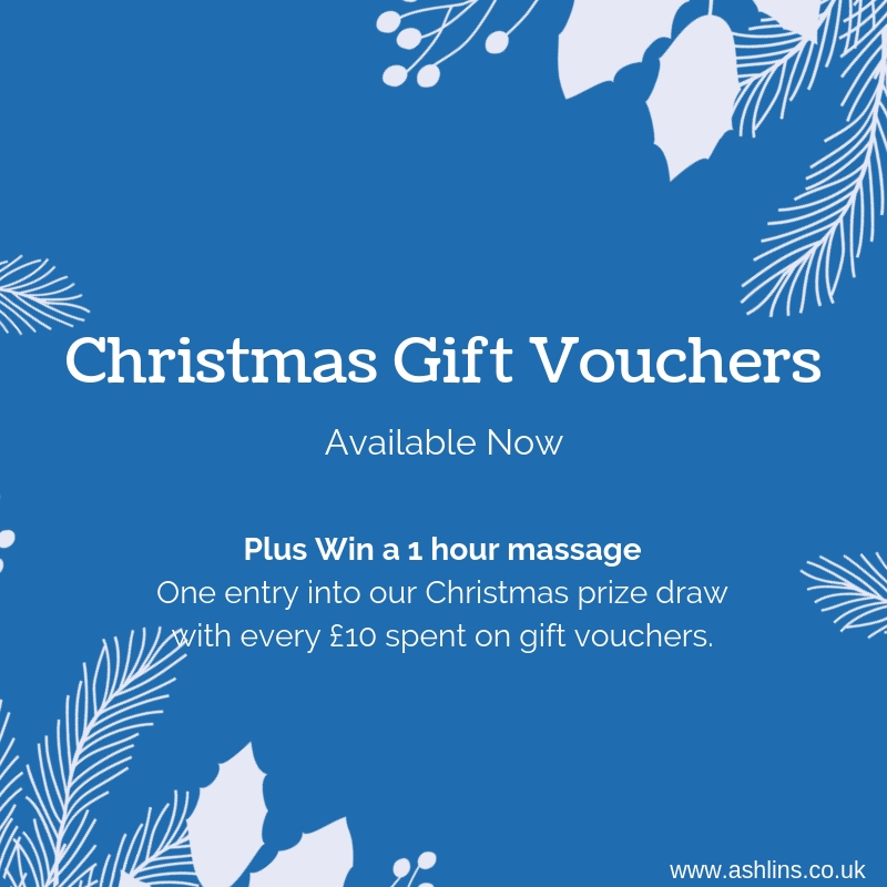 Christmas Gift Vouchers and Prize Draw at Ashlins