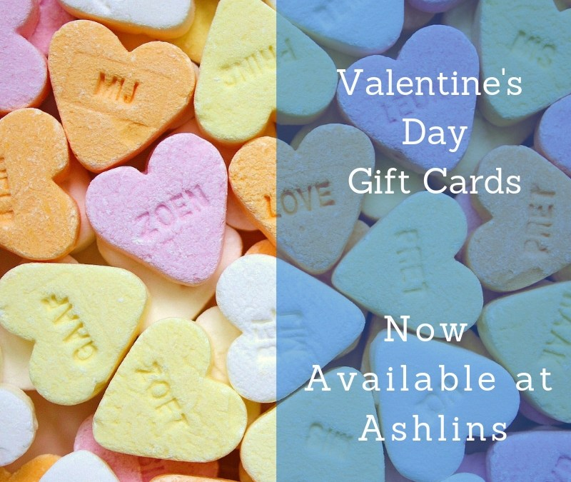 Valentine's Gift Cards Available Now