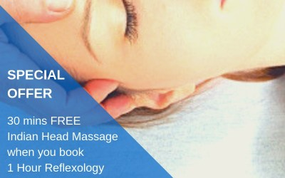 Special Offer: FREE 30 mins Indian Head Massage