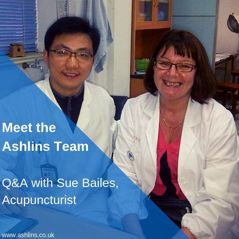 Q&A with Sue Bailes, Acupuncturist in Walthamstow East London