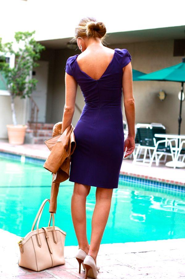 purple dvf dress 2