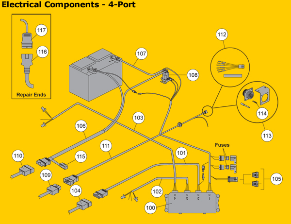 fisher electrical components