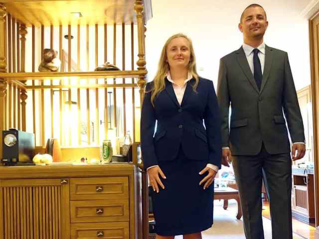 Business Dress for Women and Men