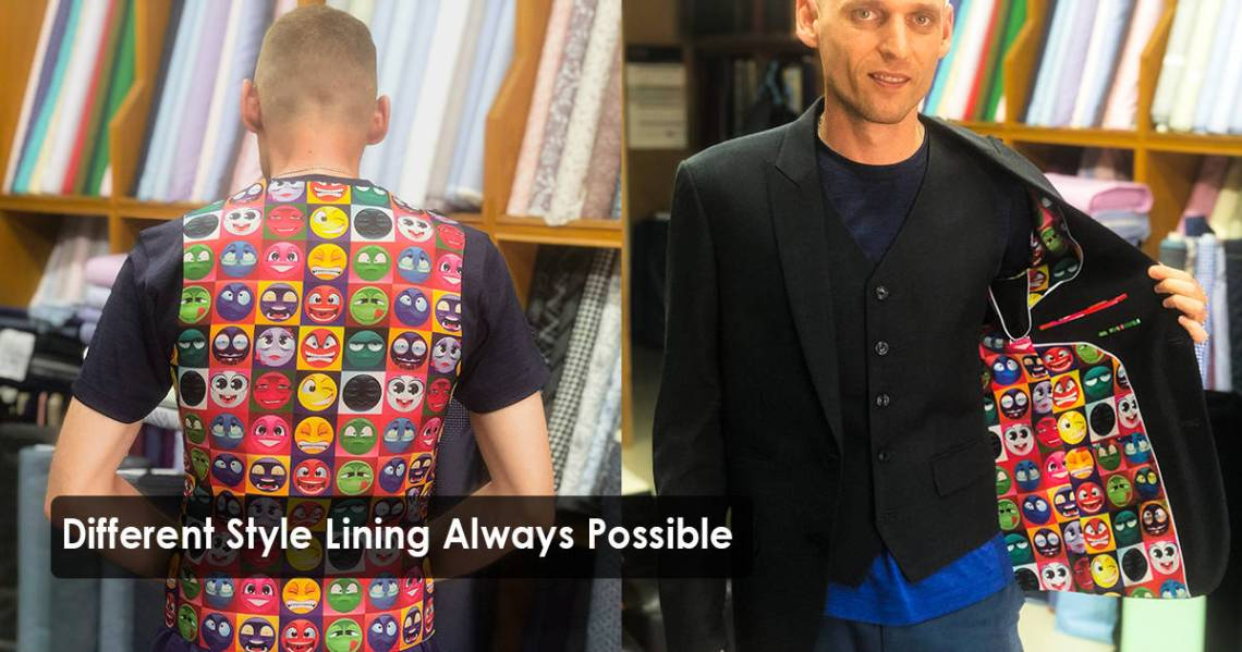 Different Style Lining Always Possible