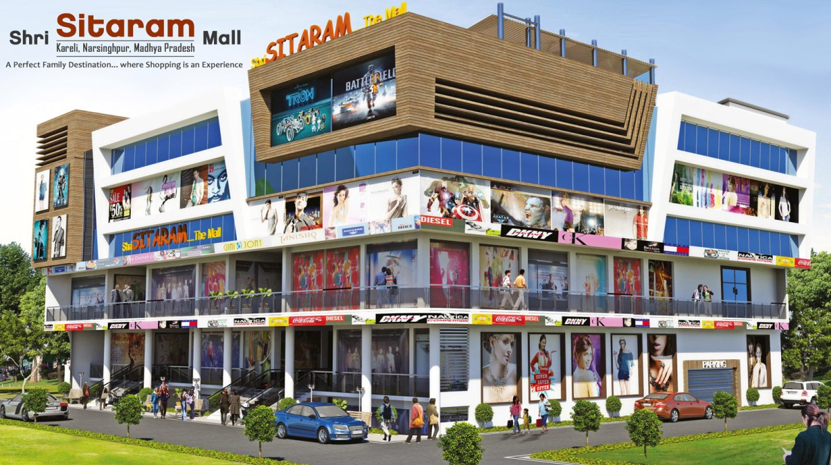 Shopping in Narsinghpur, M.P - Shri Sitaram Mall, Kareli
