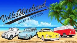 VolksWeekend Goa, Folks India, VW Beetle, VW Air-Cooled Community, VW Beetle Blog