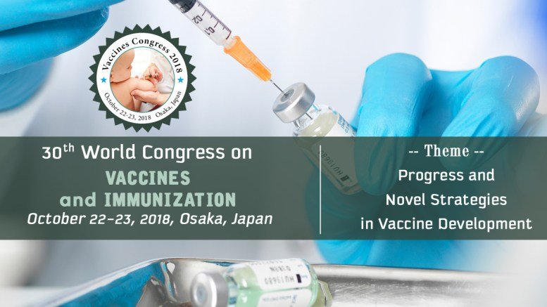 World Congress on Vaccines and Immunization, 2018, Japan